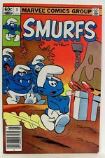 """""""SMURFS"""" by PEYO Issue # 3 (1982) (Marvel Comics Group)"""