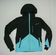 QUIKSILVER Blue/Black SNOWBOARD JACKET Warm Winter Ski Coat Kid Sz YOUTH M 10