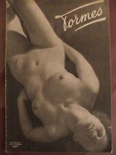Brassai rare publication FORMES nues 16 photos edition originale heliogravure