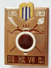 Insigne Gendarmerie Indochine GARDE REPUBLICAINE COCHICHINOISE ORIGINAL D.BER.