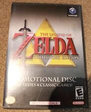 LEGEND OF ZELDA COLLECTORS EDITION Nintendo Gamecube Complete w manual MINT