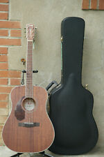 NEW 2020 Fender PM-1 Paramount Dreadnought Left Handed Acoustic Guitar & Case