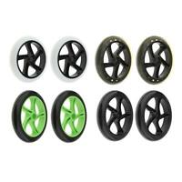 2 Pcs Sport Scooter Wheel Pro Stunt Scooter Rear Tire Replacement Part 180mm