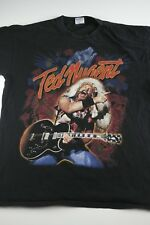 Vintage Ted Nugent Kiss My Ass I'm An American Tour T-Shirt Size XL vtg 90s