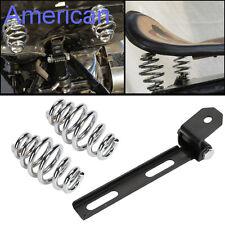 "Motorcycle Solo Seat 3"" Springs Bracket Mounting Kit For Harley Chopper Bobber"