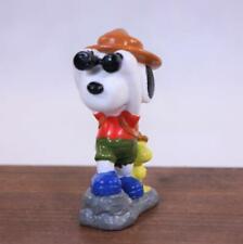 Vintage Peanuts Hiking Snoopy PVC Figurine