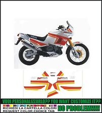 kit adesivi stickers compatibili  XT 750 Z SUPER TENERE 1989 WHITE RED