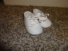 INFANT BABY SZ 0 WHITE LEATHER SHOES BOYS