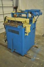 New listing 30″ x .150″ Rowe Straightener .020″ – .150″ Thickness Capacity 7 Roll Straighten