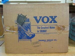 NOS Vintage 1960s Vox Pathfinder V1 and V1011 S1 Rigid Stand/Trolley in BOX