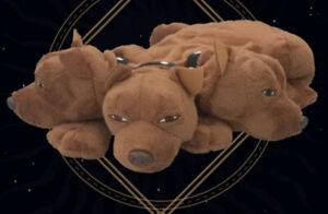 Official Warner Bros Studio London Harry Potter Fluffy The Dog Puppet Hagrid. BN