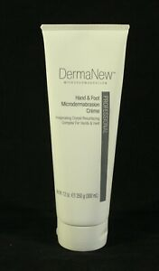 DERMANEW ™  Hand & Foot Microdermabrasion Crème Net  Wt 12 oz 350g 300ml NEW