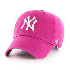 NY YANKEES  ADULT 47 BRAND ORCHID CLEAN UP/DAD HAT NEW & LICENSED