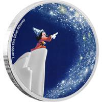 2021 Niue Disney Fantasia Sorcerer's Apprentice 1 oz Silver Coin - 1,940 Made