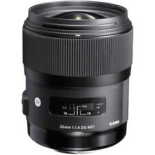 Brand new Sigma 35mm f/1.4 DG HSM Art Lens for Canon 6D Mark II 200D 5D Mark IV