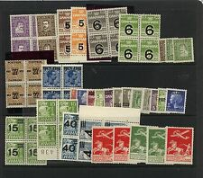 Denmark  all Mint  group many blocks