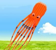 [ USA SHIPPING ONLY ] ALIEN 8M HUGE MONSTER OCTOPUS PARAFOIL KITE TOY - ORANGE