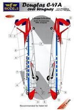 LF Models Decals 1/72 DOUGLAS C-47D DAKOTA OVER URUGUAY Part 2