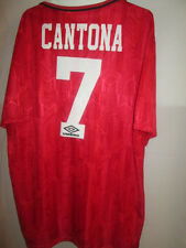 Manchester United Cantona 1992-1993 Home Football Shirt Size Extra Large /4667