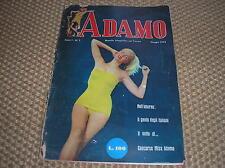 ADAMO RIVISTA MASCHILE 1954 ANNO 1 #1 SOPHIA LOREN ESTER WILLIAMS MARILYN MONROE