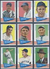 1961 Fleer Baseball Complete SET Williams Ruth Gehrig Wagner Young Cobb EX-EM