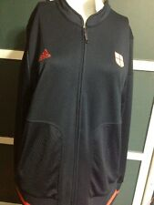 2010 ADIDAS FIFA WORLDCUP STH AFRICA track suit top ENGLAND  Blues, Polyester XL