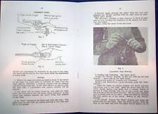 1943 AUSSIE MANUAL PISTOL - REVOLVER S&W .38 BOOKLET WW2