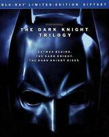 The Dark Knight Trilogy (Blu-ray, 2012, 5-Disc Set, Limited Edition) Brand New