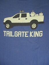 Size 2X blue TAIL GATE KING TRUCK t-shirt by MAD ENGINE