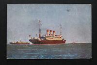 Marine Schiff AK Dampfer CAP POLONIO Hamburg Südamerika 1910-20 La Plata +++