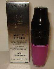 Lancome Matte Shaker  Liquid Lipstick ~ 381 Funcshia  NIB