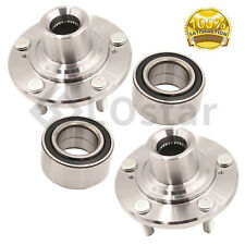 Pair(2) Front Wheel Hub & Bearing Assembly Fits Acura TSX Honda Accord Crosstour