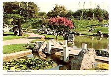 Japanese Friendship Garden San Jose California Postcard Senter Keyes Posted 1983