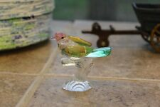 COLLECTIBLE CRYSTAL/GLASS BIRD