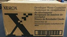 (Lot of 4) Xerox 8R7977 Developer Waste Container DocuColor 12  and 50 You get 4