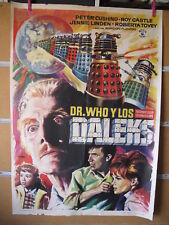 A4589 Doctor Who y los Daleks Peter Cushing,  Jennie Linden,  Roberta Tovey,  Ro