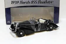 1:18 SunStar Horch 855 Roadster 1939 black NEW bei PREMIUM-MODELCARS