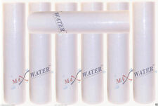 "(7) 20"" x 4.5"" Big Blue Whole House Water Filter Sediment 5 Micron Water Filter"