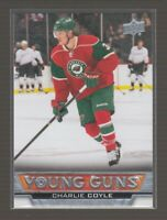 (70907) 2013-14 UPPER DECK YOUNG GUNS CHARLIE COYLE #233 RC