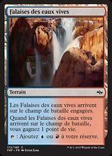 MTG Magic FRF FOIL - Swiftwater Cliffs/Falaises des eaux vives, French/VF