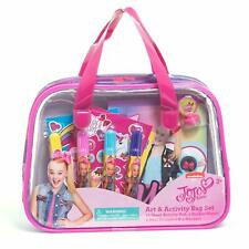 JoJo Siwa Art & Activity Bag Set Kids Girls Party Supplies Travel Activities New