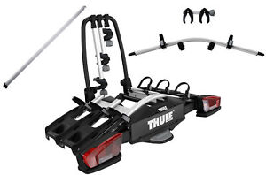 Thule Rack Carrier Tow Trailer Hitch Velocompact 926 9261 4 Wheels + Access Ramp