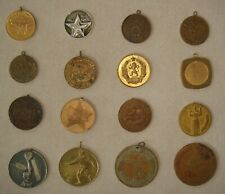 Dealers and Collectors lot -16 different Bulgarian Military & other medals set3