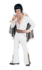 50s Deluxe Elvis Presley Rock Star Adult Men Halloween Costume Fancy Dress 80159