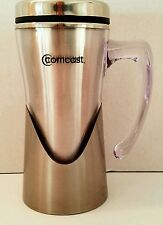Sovrano Stainless Steel Double Wall Travel Coffee Tea Mug Cup Comcast