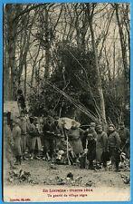 CPA: En Lorraine - Guerre 1914 - Un gourbi du village nègre / 1915
