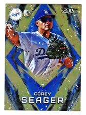 2017 Topps Fire FIRE ORANGE #150 COREY SEAGER 106/299 Dodgers TARGET Exclusive