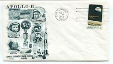 1969 Apollo 12 John Kennedy Space Center Florida Cape Canaveral Space Cover