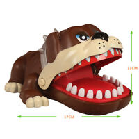 Funny Gift Toy Cute Large Bulldog Mouth Dentist Bite Finger Game Lucky Dog Game
