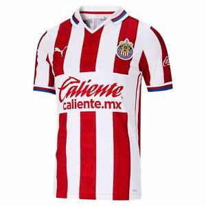 Puma CHIVAS GUADALAJARA Home Soccer Futbol Jersey New 76304801 Men 2020-2021 ⚽️